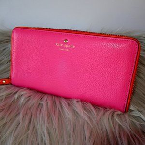 Kate Spade Continental Pink Wallet